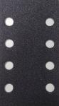 60386 3М Абразивные листы 395L Hookit II, 8отв., пурпурные, 70 х 127мм P60