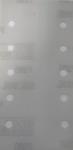 60435 3М Абразивные листы 395L Hookit II, 10 отв., 115мм x 225мм P80