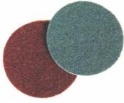 Абразивный диск 3M Scotch-Brite SC-DH (скотч-брайт) для угловых шлифовальных машин, d115мм, A CRS (бежевый)