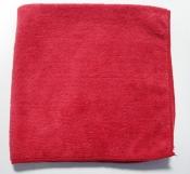 Красная полировальная салфетка из микрофибры CARFIT мягкая, 40х40см