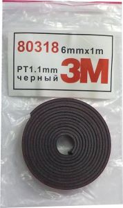 Купить Двусторонняя клейкая лента 3M, 6мм х 1м - Vait.ua