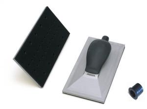 """Купить Ручной шлифовальный блок (рубанок) Mirka с пылеотводом 115мм х 230мм, 32 отверстия, крепление """"липучка"""" - Vait.ua"""