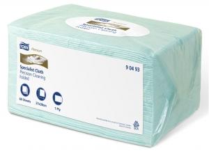 Купить 90493 Салфетки для обезжиривания Tork Premium Precision Cleaning, 38 х 27 см - Vait.ua