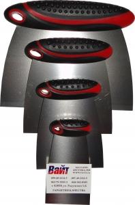 Купить 904M7 Набор металлических шпателей Force Body Filler Applicator set для кузовных работ (4 шт./комплект) - Vait.ua