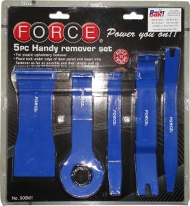 Купить 905M1 Набор FORCE для демонтажа пластиковых панелей (5 предметов) - Vait.ua