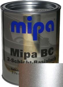 """Купить 92U Базовое покрытие """"металлик"""" Mipa """"Poly silver"""", 1л - Vait.ua"""