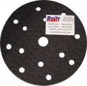 93015 Универсальная мягкая подложка PYRAMID, диаметр 150мм, 15 отверстий, черная