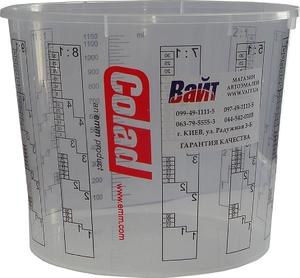 Купить Емкость мерная пластиковая для смешивания красок COLAD без крышки, 1,4л - Vait.ua