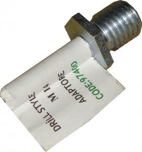 Купить 97400 Металлический адаптор (переходник) PYRAMID с резьбой М14 для крепления полировальных кругов - Vait.ua