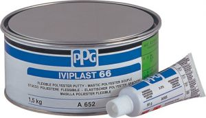 Купить Шпатлевка для пластиков PPG DELTRON IVIPLAST 66, 1,5 кг  - Vait.ua