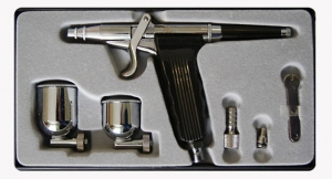 Купить Аэрограф Air Pro AB-116 + 2 сменных бачка в комплекте, дюза 0,3 мм - Vait.ua