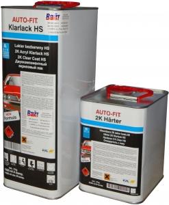 Купить 2К акриловый лак Auto-fit HS (5л) + отвердитель (2,5л) - Vait.ua