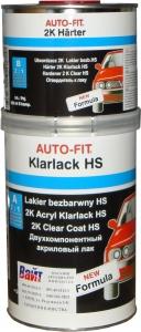 Купить 2К акриловый лак Auto-fit HS (1л) + отвердитель (0,5л) - Vait.ua