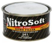 Однокомпонентная нитрошпатлевка BODY Nitro Soft 1К, 0,75 кг