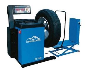 Купить Балансировочный станок универсальный Trommelberg CB1448 с пневматическим подъемником (для колес до 130 кг) - Vait.ua