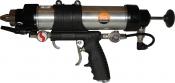 Универсальный пистолет VGL CG2033MCR-9 для картриджей и мягких труб, 400мл, пневматический
