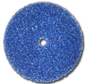 Купить CG-DC Круг синий обдирочный 3M Scotch-Brite Clean'n'Strip™ BLUE для зачистки, 150мм x 13мм - Vait.ua