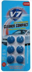 """Купить Летний концентрат в бачек омывателя CLEANER COMPACT Expert V7, с запахом """"Морская свежесть"""" (6 таблеток) - Vait.ua"""