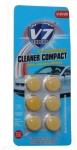 """Летний концентрат в бачек омывателя CLEANER COMPACT Expert V7, с запахом """"Лимон"""" (6 таблеток)"""