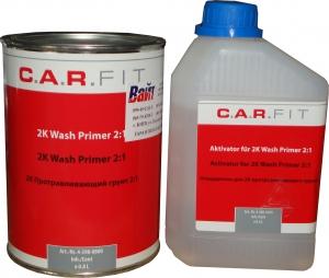 Купить Протравливающий грунт CARFIT (0,8л) + отвердитель (0,4л), 2:1 - Vait.ua