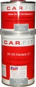 2К HS прозрачный акриловый лак (1л) + отвердитель (0,5л)