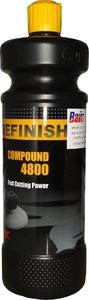 Купить Универсальная полировальная паста Cartec Refinish Compound 4800 - Fast Cutting Power, 1л - Vait.ua