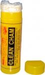 """Салфетка синтетическая влаговпитывающая """"CLEAN CHAM"""" (66х43х0,2см), желтая, большая"""