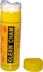 """Купить Салфетка синтетическая влаговпитывающая """"CLEAN CHAM"""" (66х43х0,2см), желтая, большая - Vait.ua"""