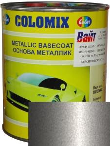 """Купить 690 Эмаль базовая с эффектом металлик COLOMIX """"Серебристый буран"""", 1л - Vait.ua"""