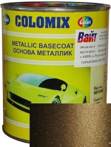 """Купить 399 Эмаль базовая с эффектом металлик COLOMIX """"Табак"""", 1л - Vait.ua"""
