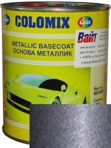 """Купить 408 Эмаль базовая с эффектом металлик COLOMIX """"Чароит"""", 1л - Vait.ua"""