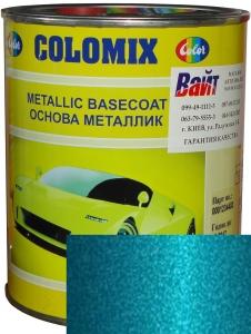 """Купить 460 Эмаль базовая с эффектом металлик COLOMIX """"Аквамарин"""", 1л - Vait.ua"""