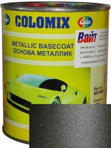 """Купить 626 Эмаль базовая с эффектом металлик COLOMIX """"Мокрый асфальт"""", 1л - Vait.ua"""