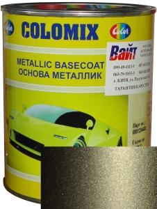 """Купить 630 Эмаль базовая с эффектом металлик COLOMIX """"Кварц"""", 1л - Vait.ua"""