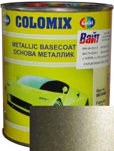"""Купить 95U Эмаль базовая с эффектом металлик COLOMIX """"Silver Met"""", 1л - Vait.ua"""
