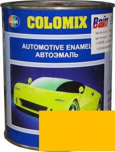 """Купить 1035 Алкидная однокомпонентная автоэмаль COLOMIX """"Желтая"""", 1л - Vait.ua"""