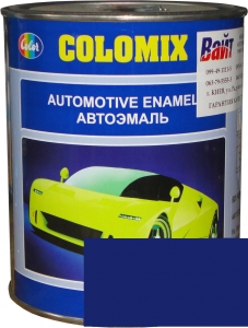"""Купить 1115 Алкидная однокомпонентная автоэмаль COLOMIX """"Синяя"""", 1л - Vait.ua"""
