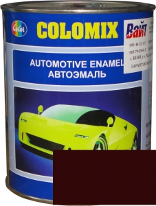 """Купить 180 Алкидная однокомпонентная автоэмаль COLOMIX """"Гранат"""", 1л - Vait.ua"""