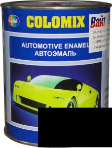 """Купить 601 Алкидная однокомпонентная автоэмаль COLOMIX """"Черная"""", 1л - Vait.ua"""