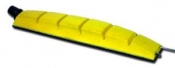 Гибкий шлифок Corcos 70х440мм с пылеотводом, 14 отверстий