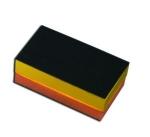 """Блок шлифовальный модулярный Corcos, крепление """"липучка"""", 70х125мм"""