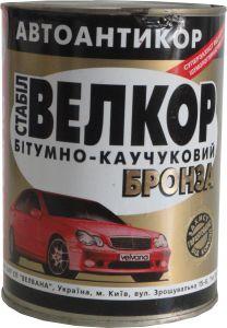 """Купить Антикоррозионная битумно-каучуковая мастика """"Велкор-стабил"""" БРОНЗА, 1,8кг - Vait.ua"""