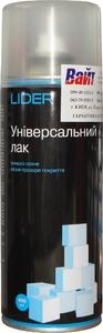 Купить Матовый лак LIDER в аэрозоли, 400 мл - Vait.ua