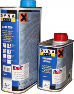 Купить Лак акриловый DYNACOAT CLEAR HS (1л) + отвердитель (0,5л) - Vait.ua