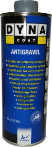 Купить Антигравийное защитное покрытие Dynacoat Antigravel Black (серое), 1л - Vait.ua