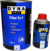 Грунт-выравниватель Dynacoat Acrillyc Filler 5+1 (1л) + отвердитель (0,2л)
