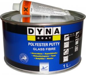 Купить Шпатлёвка со стекловолокном DYNA Glass Fibre Putty, 1л - Vait.ua