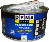 Универсальная полиэфирная шпатлевка DYNA Multifill Putty, 1,8кг