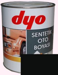 """Купить 601 Синтетическая однокомпонентная автоэмаль DYO """"Черный"""", 1л - Vait.ua"""