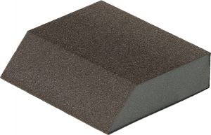 Купить Четырехсторонний абразивный блок Flexifoam Angle Block, 98x69x26мм, P100 - Vait.ua